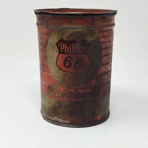 Vintage Phillips 66 lubricant can